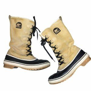SOREL TIVOLI III Tan High Waterproof Boots Size 7